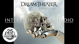 DREAM THEATER - Interview at the Studio Pt. 1