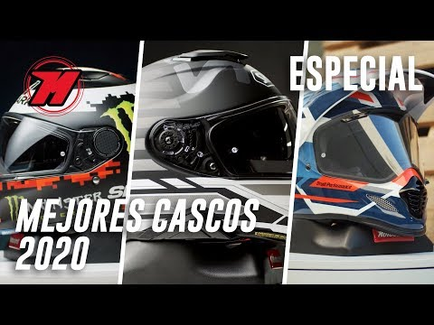 Los mejores CASCOS DE MOTO 2020. ¡El RANKING DEFINITIVO!