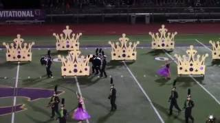 Lindbergh High School--The Queen's Crown--at Blue Springs 2016 Finals Performance LHS