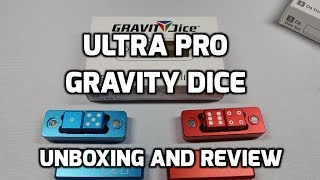Ultra Pro Gravity Dice Unboxing and Review