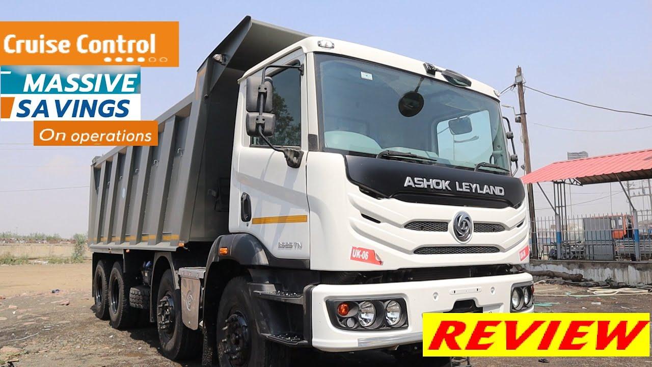 2021 Ashok Leyland 3525 TN BS6 Review   12 Tyre Tripper  Price   Mileage   Warranty