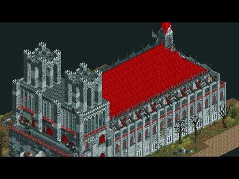 Open RCT2 - Custom Scenery Workshop Tutorial [Episode 3 - Cathedral of the Damned Dark Ride thumbnail