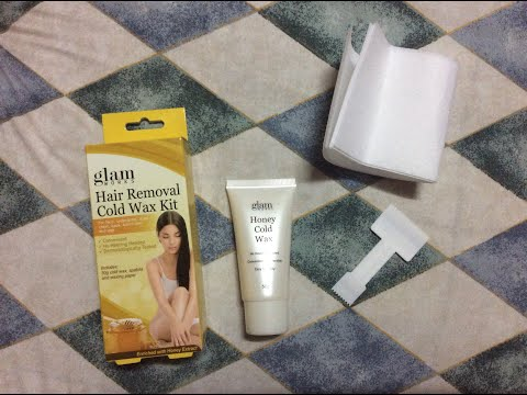 Underarm Wax Turorial Using Nanny Rose Honey Wax Cold Wax Review