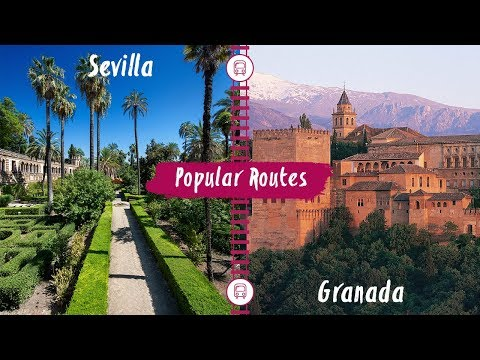Interrail | Train Route From Sevilla To Granada
