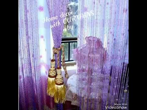 DIY beautiful curtain ideas for home decor...