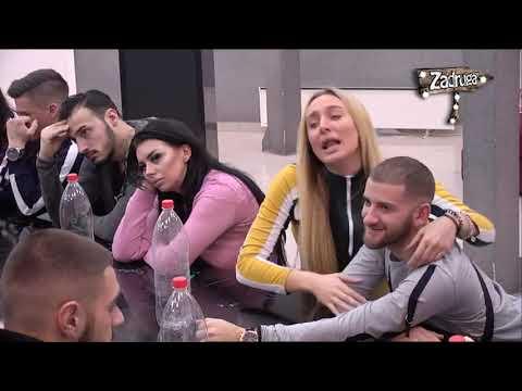 Zadruga 2 - Kulićke i Luna se raspravljaju zbog Marka i Slobe - 07.02.2019.