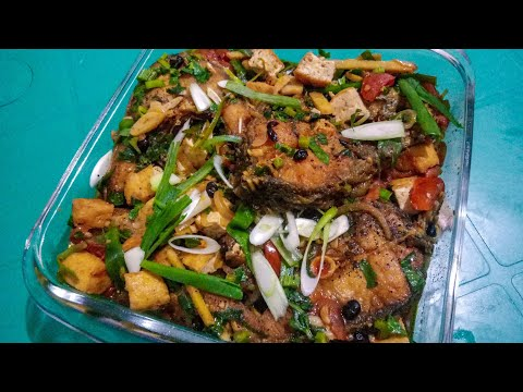 Fish And Tofu With Tausi Recipe|| Imelda Fish Recipe || How To Cook Tausi?