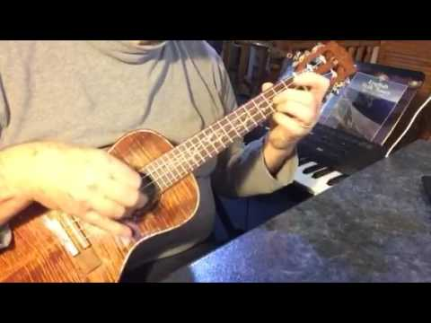River Deep - Mountain High - solo fingerstyle ukulele - Arranged & played by Colin Tribe