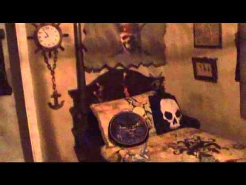 Castledisneycom Pirate Themed Kids Room Youtube