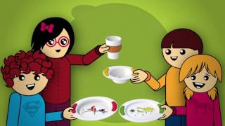 ORNAMIN Childrens tableware