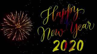 Happy new Year 2020 count down start Happy new year vedios full hd