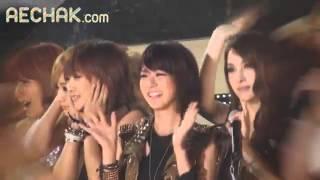 잊을수없는 카라 karaカラ 한승연 눈물 スンヨンの涙 드림콘서트 후110528
