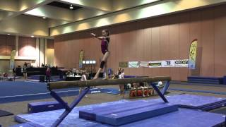 Beam Routine of the Week 1-24-15: Jessica Wright