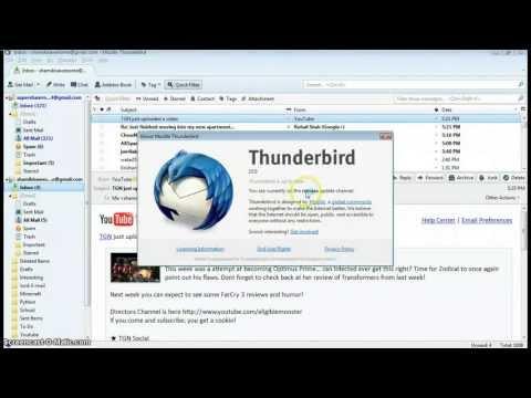 Mozilla Thunderbird 15 Full Review!