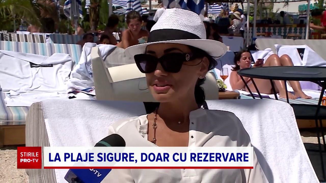 Plaje sigure, pe litoralul românesc. Unde sunt respectate normele de protecție și distanța socială