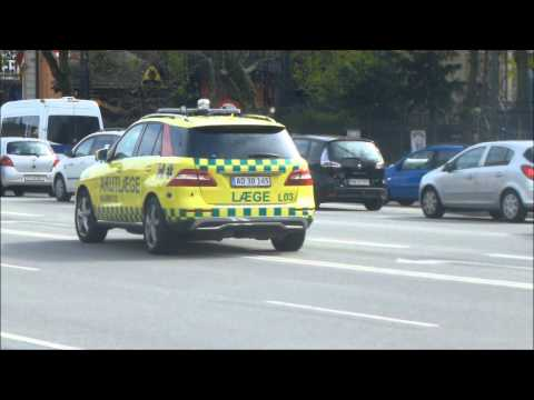 Compilation - New Mercedes ML350 Emergency Doctor - 510L03 - Copenhagen Fire Brigade/Main Station
