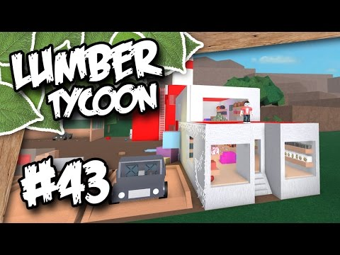 Lumber Tycoon 2 #43 - SECOND FLOOR STORE (Roblox Lumber Tycoon)