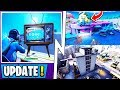 *NEW* Fortnite Update!   Ice Event Official Time, Train Track, All Map Changes!