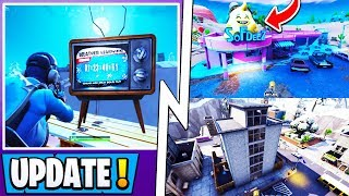 *NEW* Fortnite Update! | Ice Event Official Time, Train Track, All Map Changes!