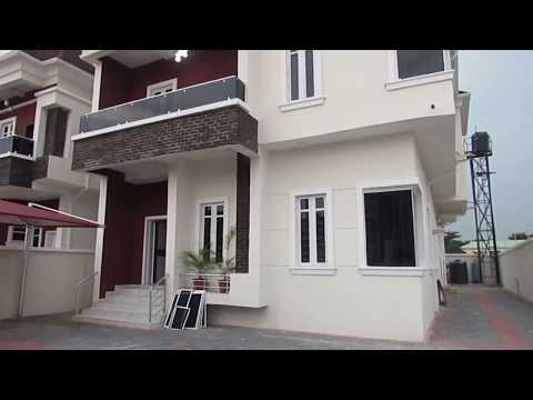 Brand New Luxuriously finished 5 bedroom Detached House in Lekki