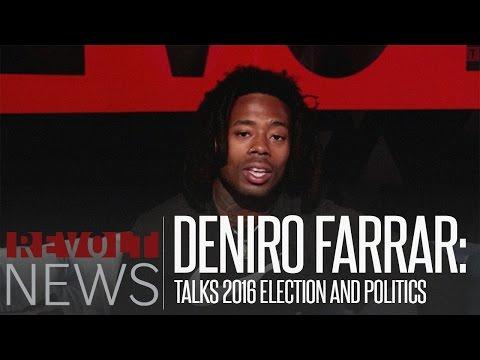 Revolt2Vote: Deniro Farrar talks 2016 Election and politics