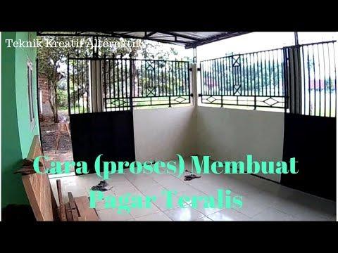 Cara (proses) membuat Pagar Teralis. (part 3)