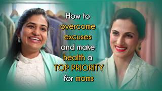 Gambar cover Shilpa Reddy -  How to overcome excuses & make health a top priority for moms   #MillionMoms