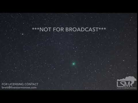 12-09-18 Sioux Falls, SD - Comet 46P/Wirtanen Timelapse Dec 7 and 8