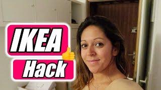Ikea Kallax Hack - Flur Organisation -Vlog#1055 Rosislife