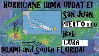Hurricane IRMA UPDATE Sep 4th Its Bahamas and now South Florida on ALERT