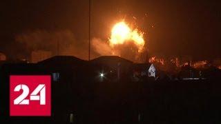 Израиль атаковал 150 целей в секторе Газа - Россия 24