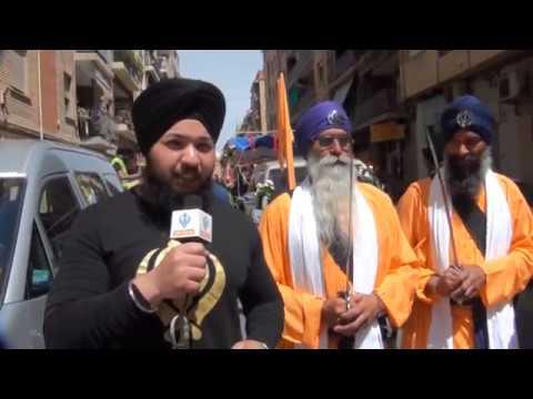 nagerkirtan gurudwara sikh sangat valencia spain 2015