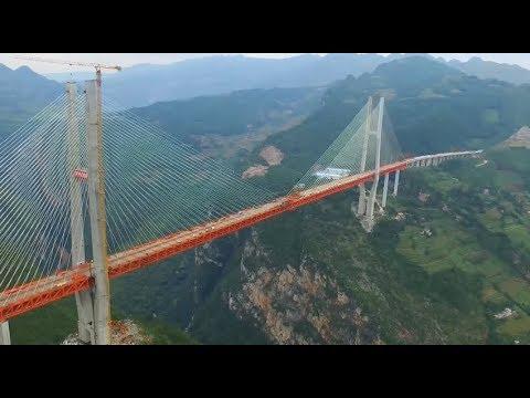 China's Beipanjiang Bridge Wins Gustav Lindenthal Medal of International Bridge Conference
