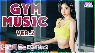 """#36 이건못참""""gym""""  🔥운동할때 듣는 노래 1시간!  (Feat.쇠질🦾)   DJ SURA ( 수라 )🐹"""