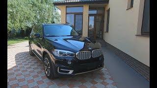 BMW X5 2016 год. Первый осмотр авто после аукциона.