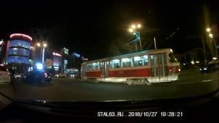 Двухкамерный видеорегистратор Neoline Wide S45 Dual - ночная съёмка, передняя камера