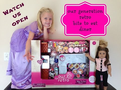 American Girl Doll Retro Diner Playset Review
