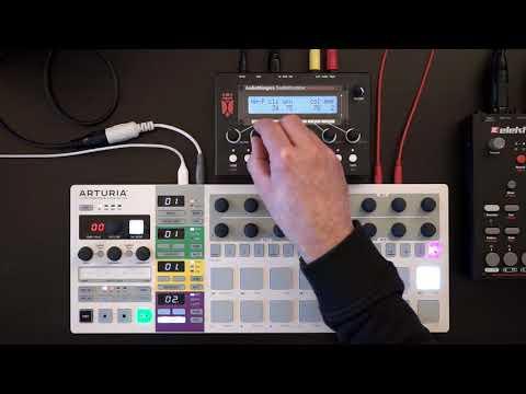 Audiothingies DoubleDrummer - Sound tweaking (w/ BSP + Bass Synth)