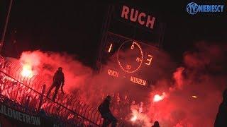 Doping 3500 fanów Widzewa w Chorzowie (20.10.2018 r.)