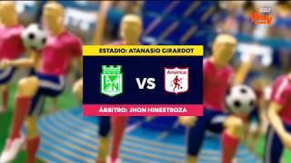 Liga Aguila 2018-I   Fecha 5 - Nacional 2-0 América
