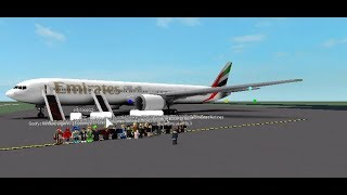 ROBLOX | Emirates Flight to Al Maktoum (DWC)