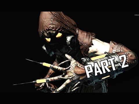 Batman Arkham Asylum Walkthrough Part 2 - Scarecrow (Return to Arkham Remaster Gameplay)