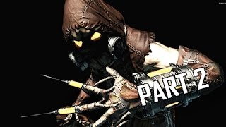 Batman Arkham Asylum Walkthrough Part 2 - Scarecrow (Return to Arkham Remaster Gameplay)