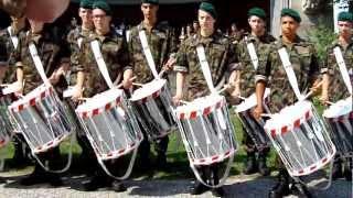 Tambouren Schweizer Militärmusik in Konstanz
