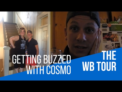 Getting Buzzed with Cosmo: The WB Tour