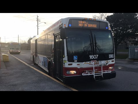 En Route: 1607 | TTC Route 38A Highland Creek Scarborough Centre to Rouge Hill GO Station