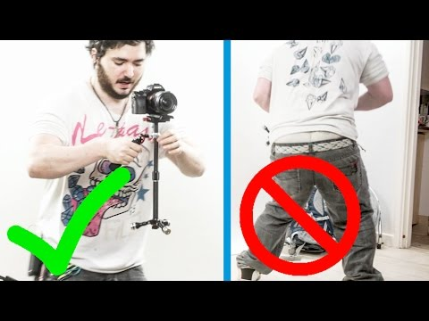 HOW TO USE A CAMERA STABILISER! / Glidecam / Steadicam
