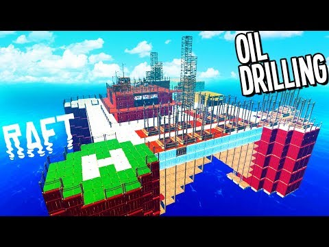 Raft: DRILLING OIL FROM THE BOTTOM OF THE OCEAN FOR UTOPIA