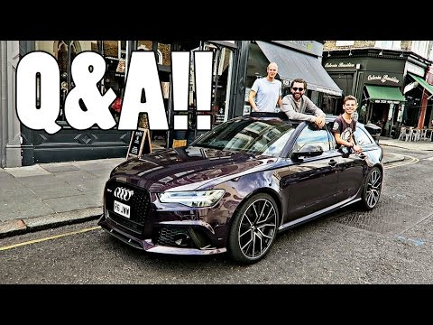 THE BEST Q&A EVER IN AUDI RS6!!