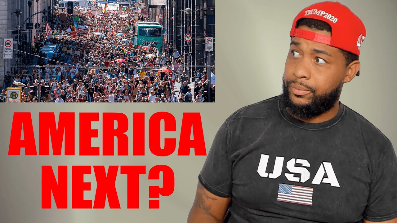Will 1000s Protest Masks in the USA like they did in Germany?